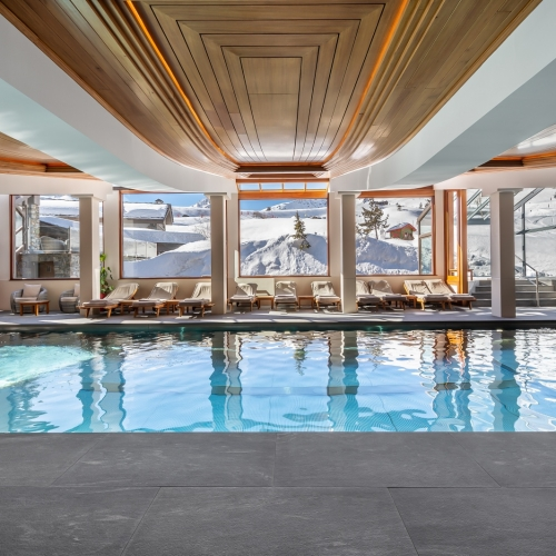 Piscine inox hôtel - spa