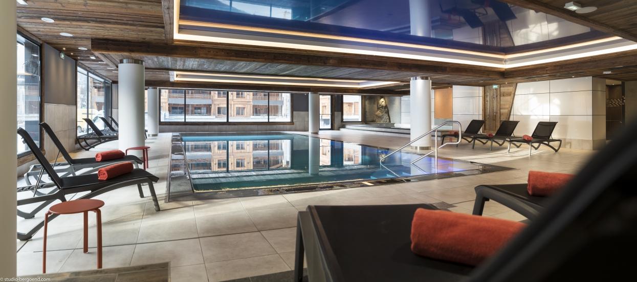 piscine inox - hôtel