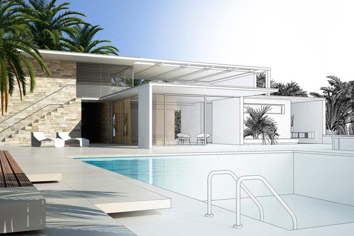 piscine inox - Architectes, bureaux de conception & ateliers de création