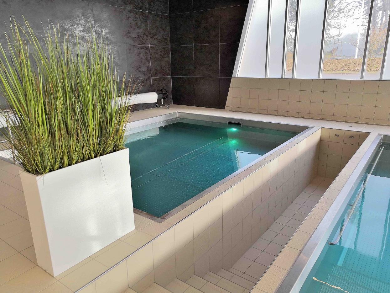 bassin en inox